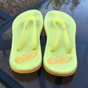 Shoes - Yellow Flip Flops